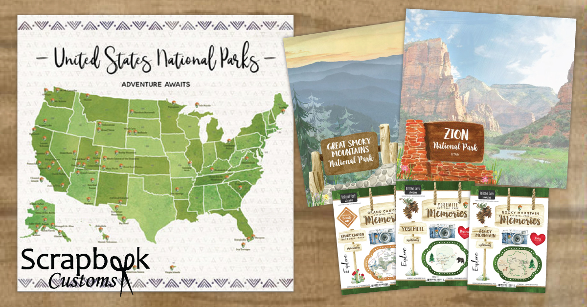 scrapbook customs travel collections
