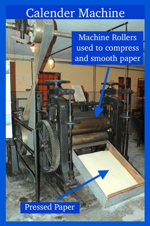 Paper Calendar Machine