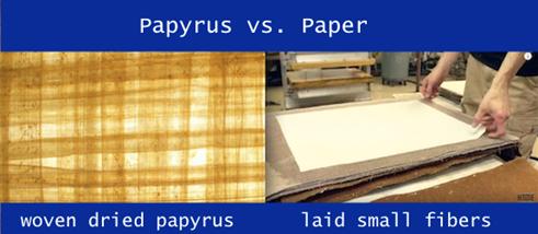 Papyrus vs Paper