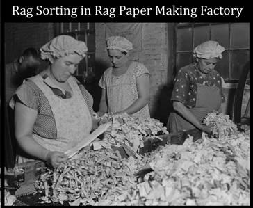 Rag Sorting Factory