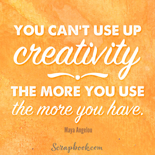 Creativity - The More You Use, The More You Have
