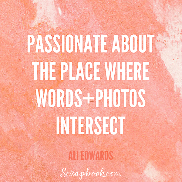 Passionate About the Place Where Words + Photos Intersect