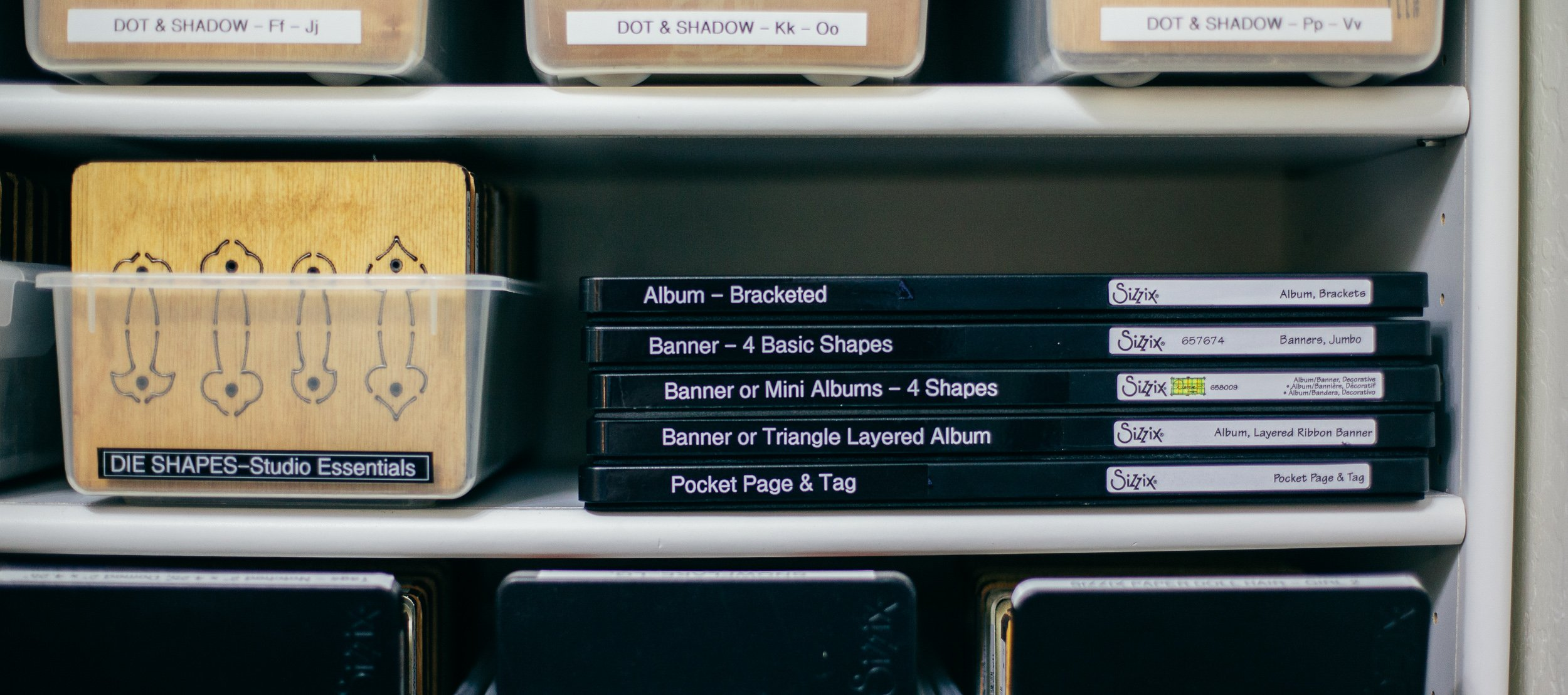 How To Organize Your Dies And Die Cutting Equipment