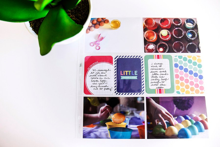 Pocket Page Scrapbooking