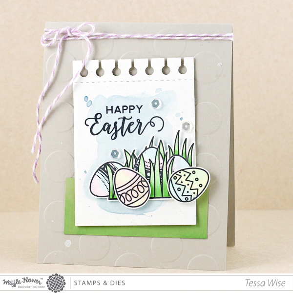 Clean and simple Easter Card