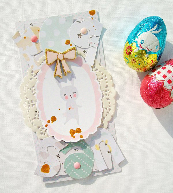 Girly Easter Card
