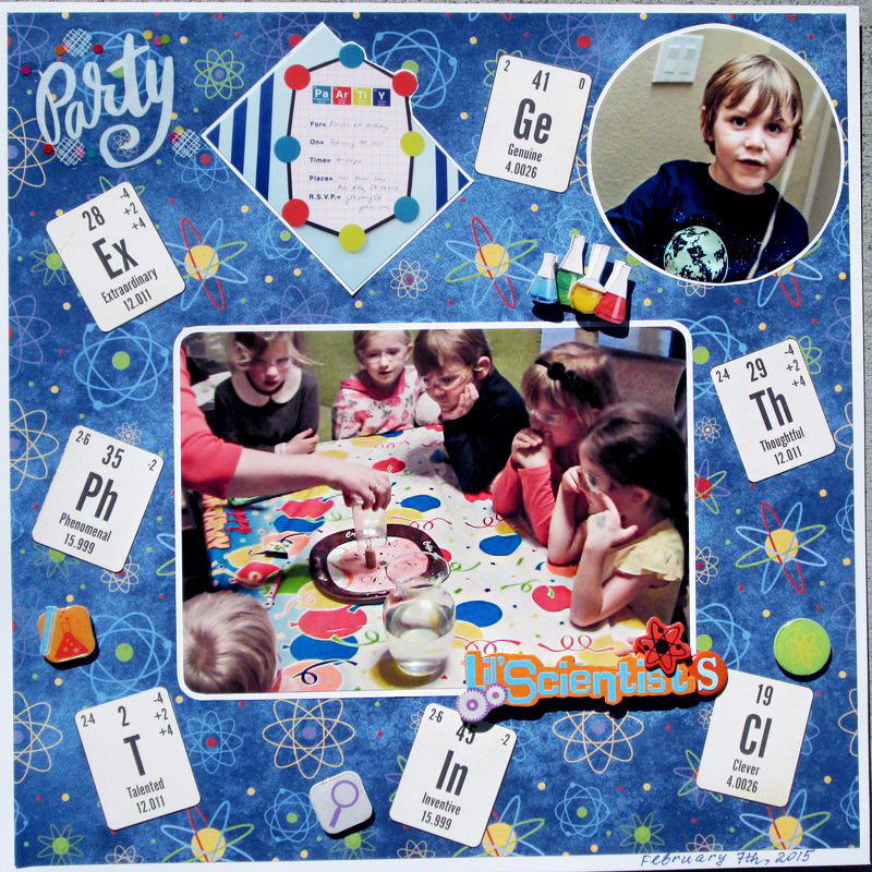 birthday party layout
