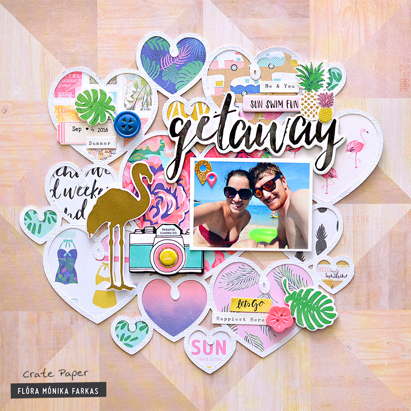summer layout inspiration