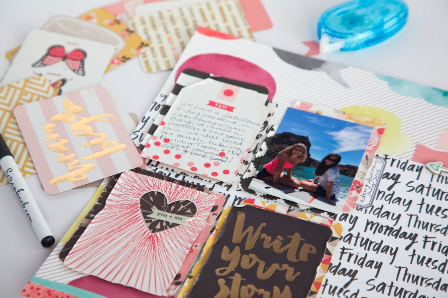 Journaling Cards as Embellishments