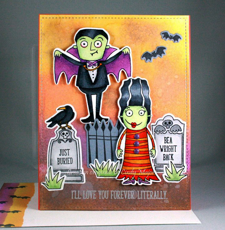 halloween card distress oxides