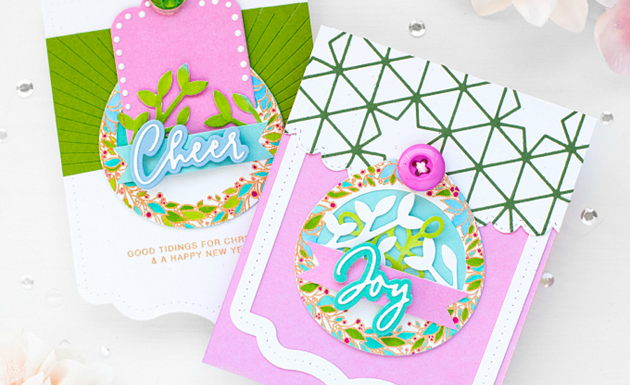 Pink Pinkfresh Cards