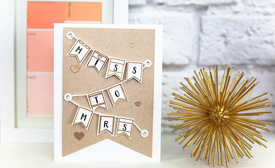 bridal card idea