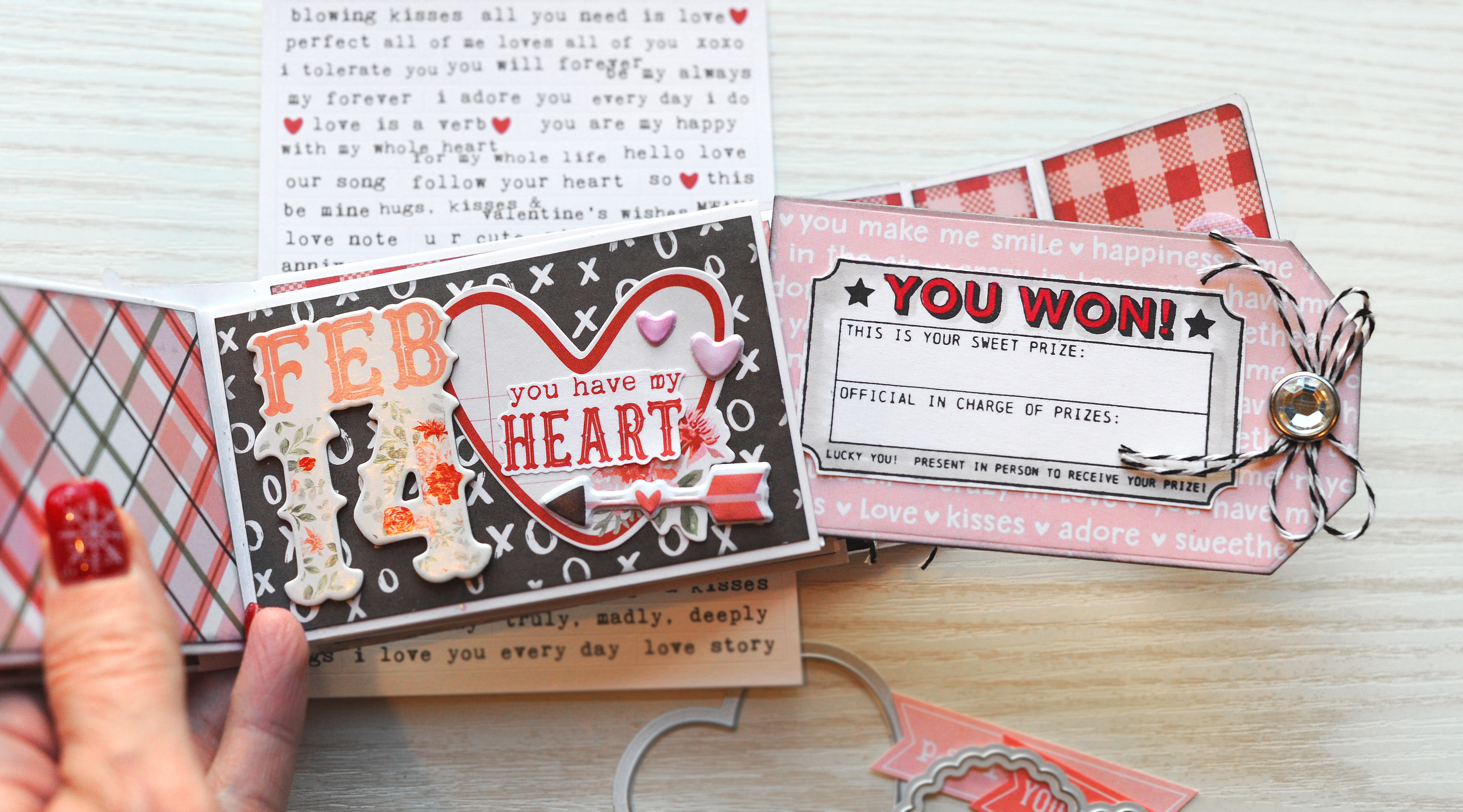 How To Make A Valentine S Day Coupon Book