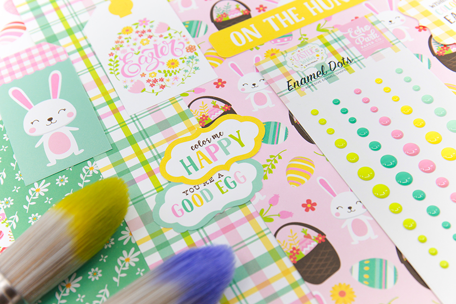 Echo park easter scrapbooking collection