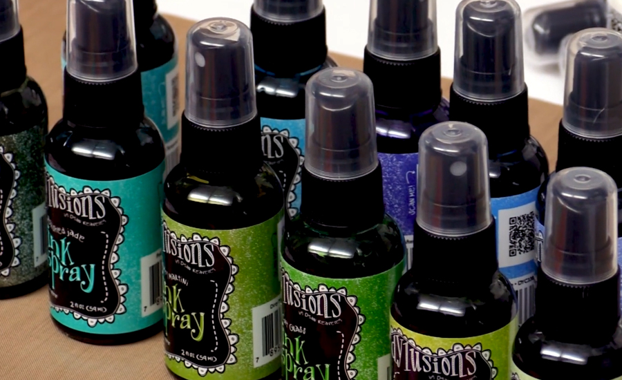 Sprays de tinta Dylusions