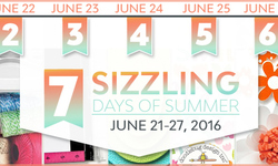 7 Sizzling Days of Summer June 21st  June 27th 2016