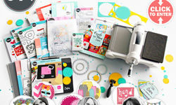 5 WINNERS WIN a 500 Big Shot Plus Bundle from Sizzix and Scrapbook.com