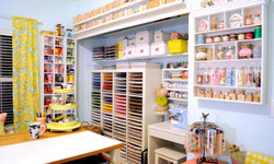 Inspiring Craft Spaces to Help You Get Organized