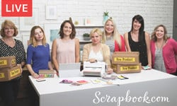Scrapbook.com On Facebook Live  September 13, 2016
