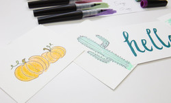 Using Your Own Handwriting on Layouts  Cards
