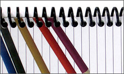 How to Cover a Spiral Bound Notebook