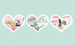 14 Valentines Day Layouts to Love