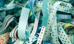 How to Organize Ribbon, Fiber, and Sewing Supplies