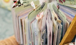 How to Organize Cards and Card Making Supplies