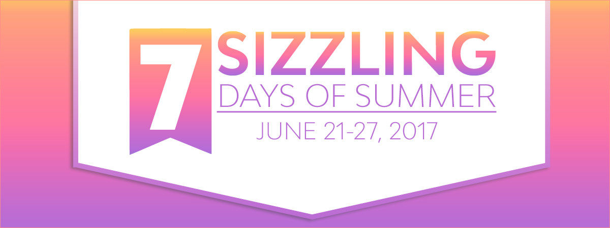 2017 Sizzling Days Of Summer Event At Scrapbook
