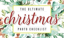 The Ultimate Christmas Photo Checklist
