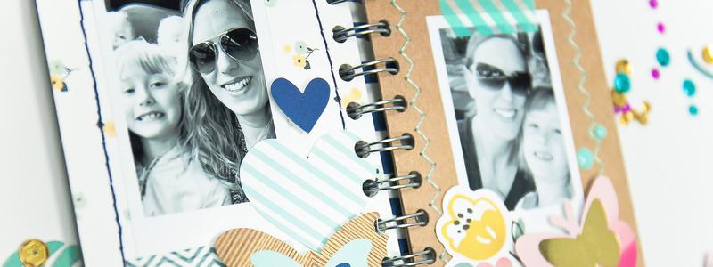 How To Make a Handmade Spiral Journal