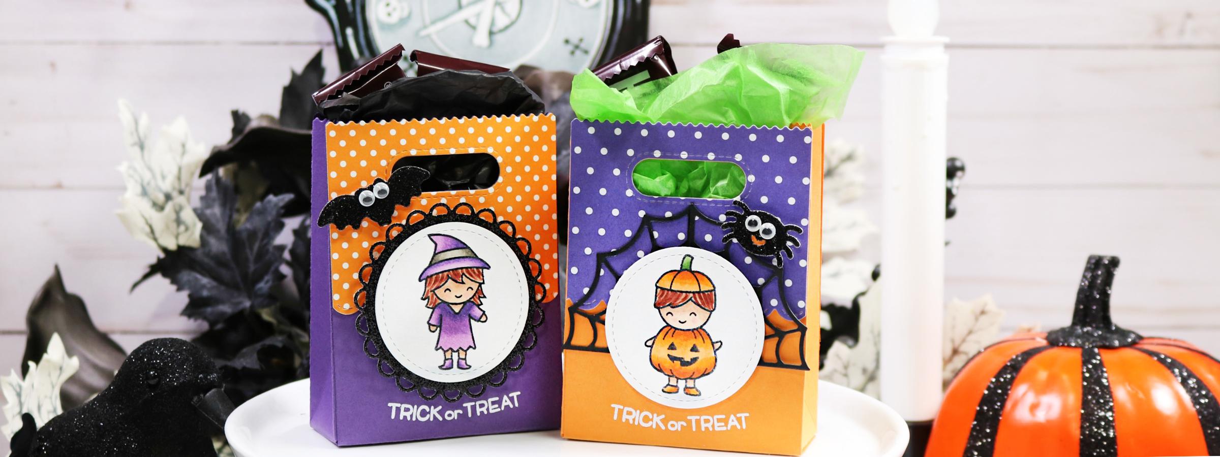 d.i.y. halloween goodie bags