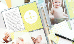 How to Create a Simple and Adorable Baby Photo Album