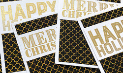 How to Make Easy Christmas Cards FAST