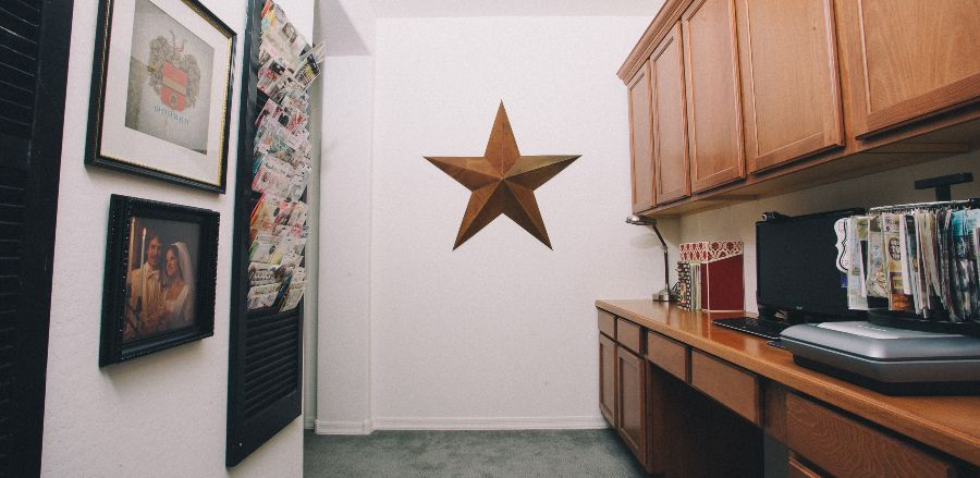 Decorative Star on Wall