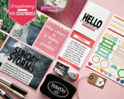 Scrapbooking For The NonScrapbooker with Kelly Xenos