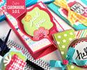 Cardmaking 101 with Stephanie Barnard