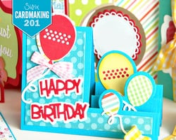 Cardmaking 201 with Stephanie Barnard