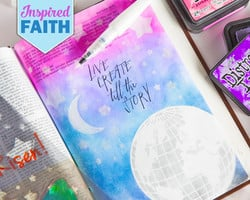 Inspired Faith Art Journaling in Your Bible with Rebekah R Jones