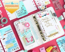 Quick and Easy Tips for Personalized Planners with Janette Lane