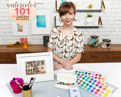 Watercolor 101 The Basics with Sarah Richards