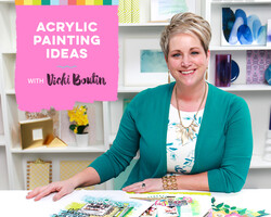 Acrylic Painting Ideas with Vicki Boutin