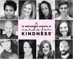 10 Designers Create 10 Cards for Kindness