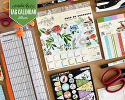 Tag Calendar Album with Graphic 45