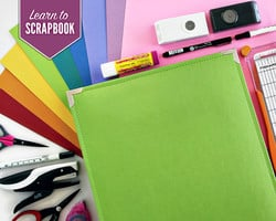 Learn How to Scrapbook  The Beginner Class