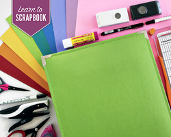 Learn to Scrapbook  The Beginner Class