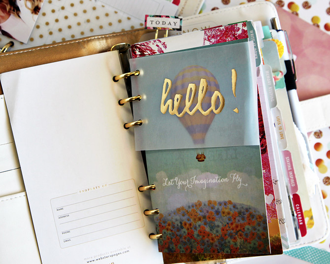 Personalizing Your Color Crush Planner with Laura Funk