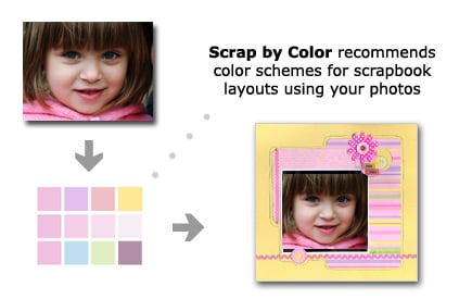 Scrap by Color find the perfect color schemes for your projects. Welcome