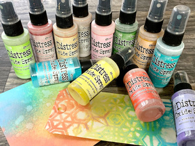 NEW Distress Oxide Sprays by Tim Holtz