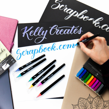 FREE Brush Lettering Class with Kelly!